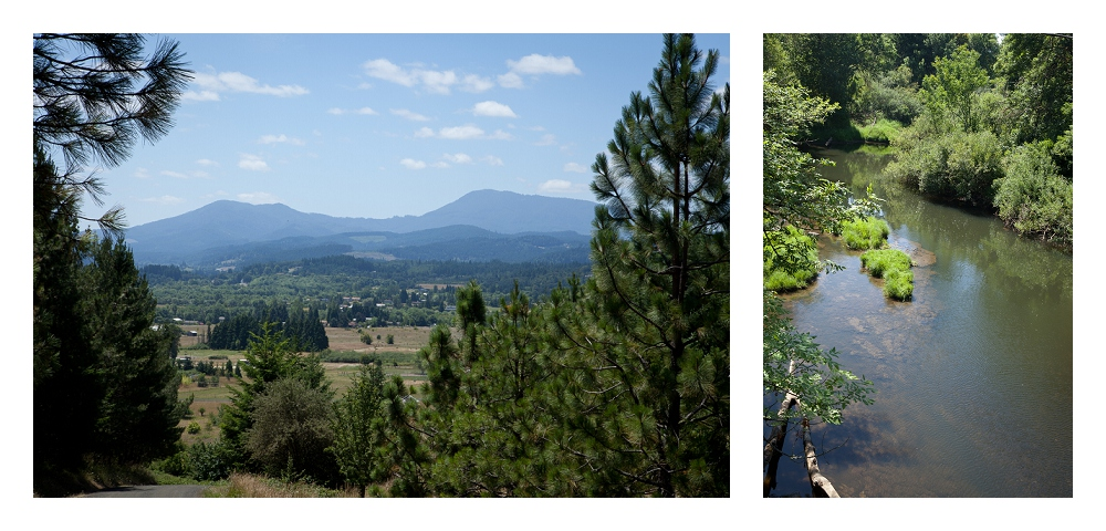 Swimming Hole and Bald Hill, Corvallis, OR