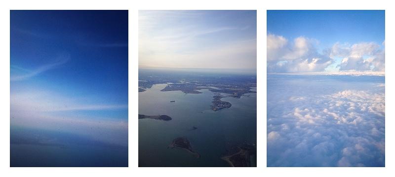 Aerial Over Boston