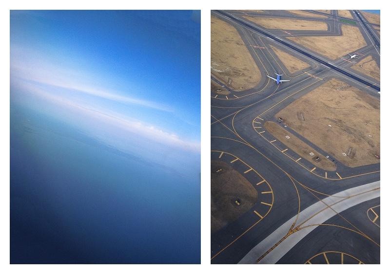 Aerial over Logan Airport