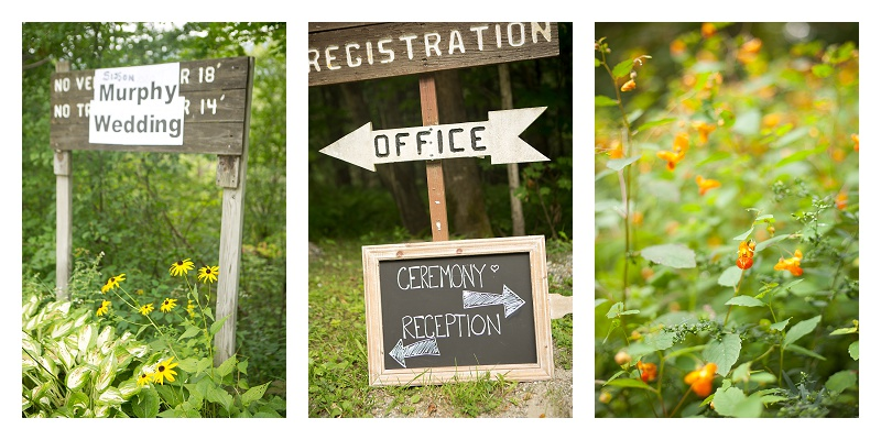 Vermont Campground wedding